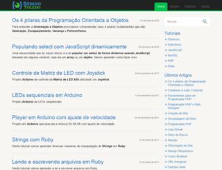 sergiotoledo.com.br screenshot
