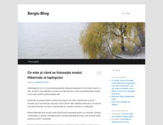 sergiu.pw screenshot