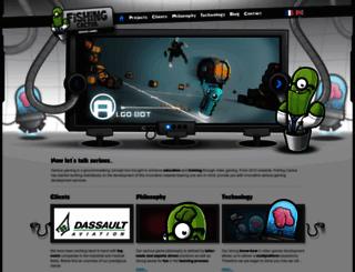 seriousgaming.fishingcactus.com screenshot