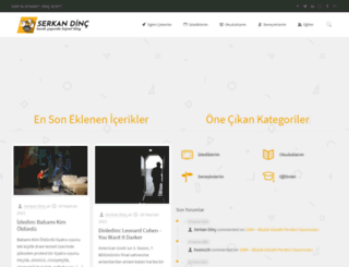 serkandinc.com.tr screenshot