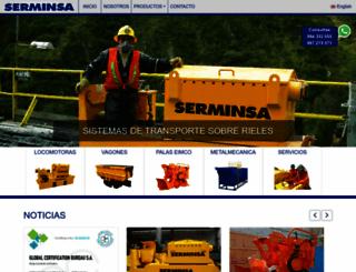 serminsa.com.pe screenshot