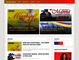 sermonjotters.blogspot.com screenshot