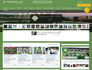 serra.fiebrebetica.com screenshot