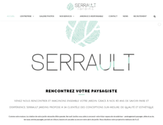 serrault.fr screenshot