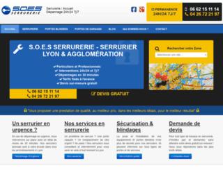 serrurier-depannage-lyon.fr screenshot