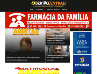 sertaocentral.com screenshot
