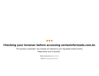 sertaoinformado.com.br screenshot