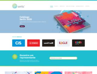sertic.com.br screenshot