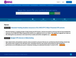 server-admins.net screenshot