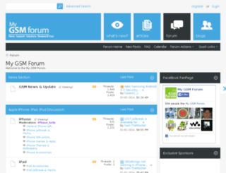 server1.mygsmforum.com screenshot