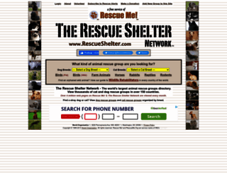 server1.rescueshelter.com screenshot