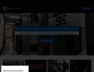 serverchoice.com screenshot