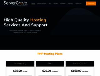 servergrove.com screenshot