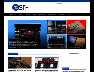 servethehome.com screenshot
