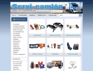 servi-camion.es screenshot