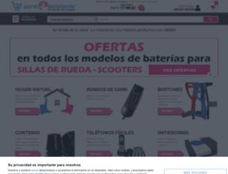 serviasistentes.com screenshot