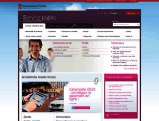 service-public-particuliers.gouv.mc screenshot