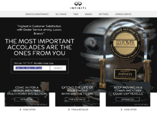 service.infinitiusa.com screenshot