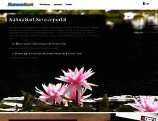 service.naturagart.com screenshot