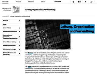 service.uni-konstanz.de screenshot
