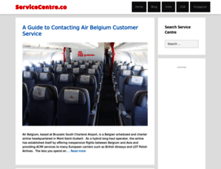 servicecentre.co screenshot