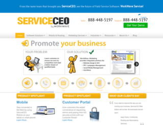 serviceceo.com screenshot