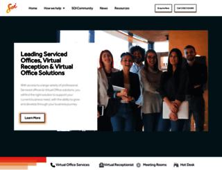 serviced.com.au screenshot
