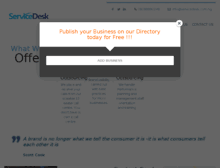 servicedesk.com.ng screenshot