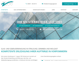 servicegruppe.de screenshot