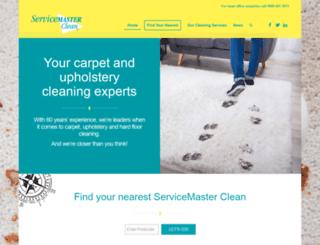 servicemasterclean.co.uk screenshot
