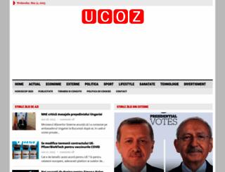 servicemobil.ucoz.ro screenshot