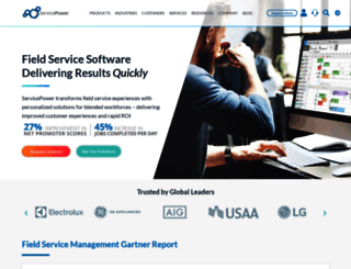 servicepower.com screenshot