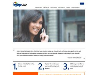 services.indiald.com screenshot