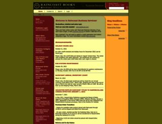 services.raincoast.com screenshot