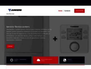 serviciojunkers.es screenshot
