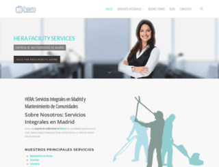 servicioslimpiezamadrid.com screenshot