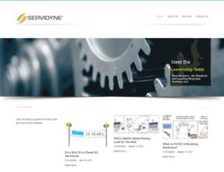 servidyne.com screenshot
