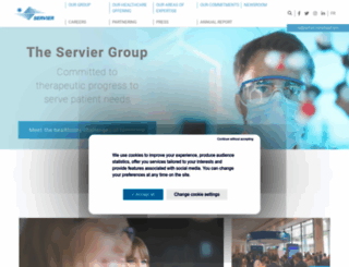 servier.com screenshot