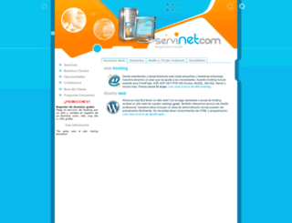 servinetsa.com screenshot