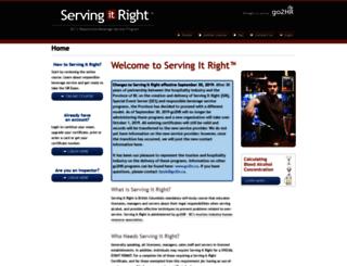 servingitright.com screenshot