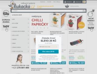 servis.kukacka.cz screenshot