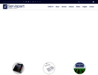 servispartconsulting.com screenshot