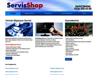 servisshop.com screenshot