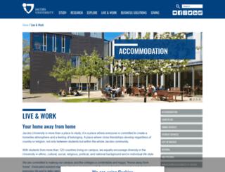 ses.jacobs-university.de screenshot