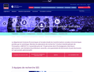 ses.telecom-paristech.fr screenshot