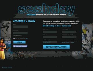 seshstaging.auspient.com screenshot