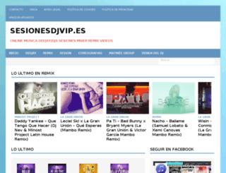 sesionesdjvip.es screenshot