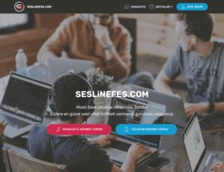seslinefes.com screenshot