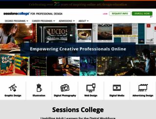 sessions.edu screenshot