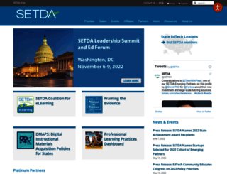 setda.org screenshot
